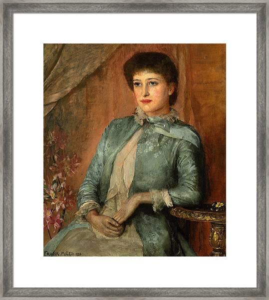 Portrait Of Lillie Langtry Framed Print