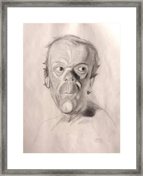 Portrait Study 3 Framed Print