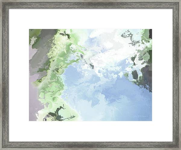 Poseidon Enosichthon Framed Print