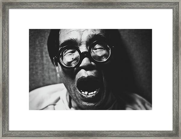 Poses Framed Print by Koji Sugimoto