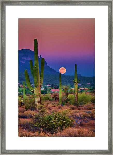 Postcard Perfect Arizona Framed Print