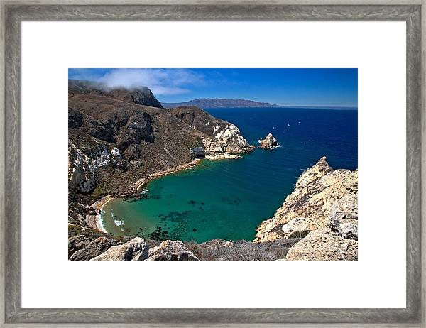 Potato Harbor Views Framed Print
