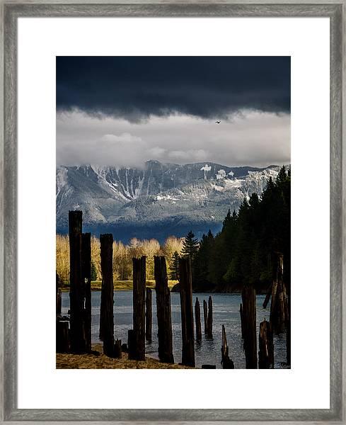 Potential - Landscape Photography Framed Print