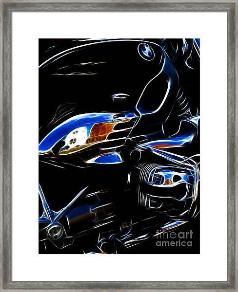 Power Cruiser Framed Print by Yvonne Johnstone