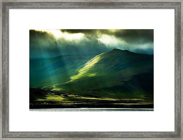 Power Of Light Framed Print by Greg Wyatt
