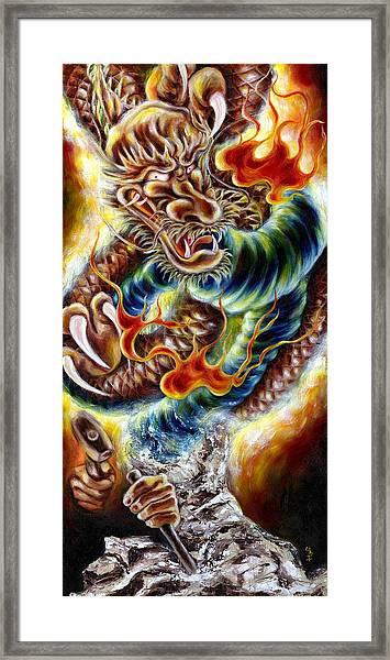 Power Of Spirit Framed Print