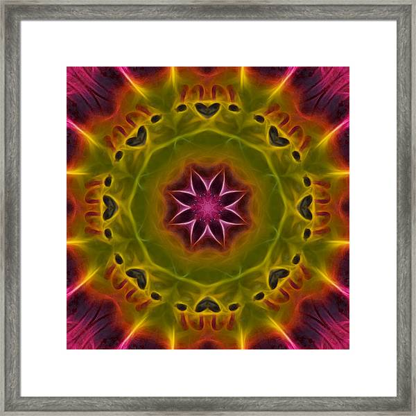 Framed Print featuring the photograph Powerful Creator - Square by Beth Sawickie