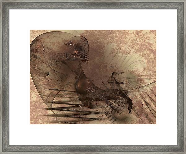 Powerless And Humble Framed Print