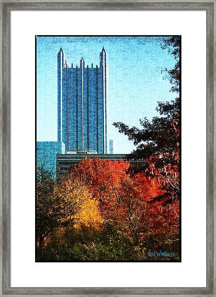 Ppg In Autumn Framed Print