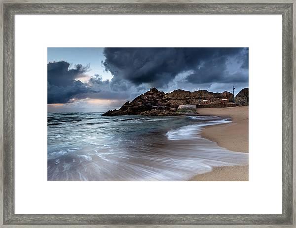 Praia Formosa Framed Print