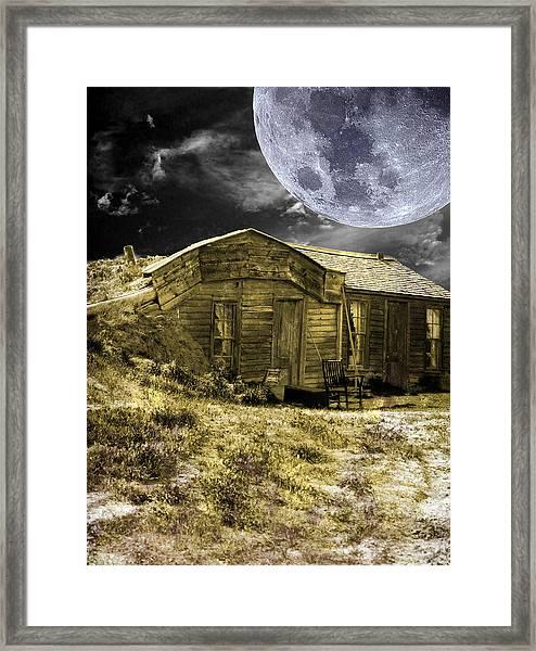 Prairie Life Digital Framed Print