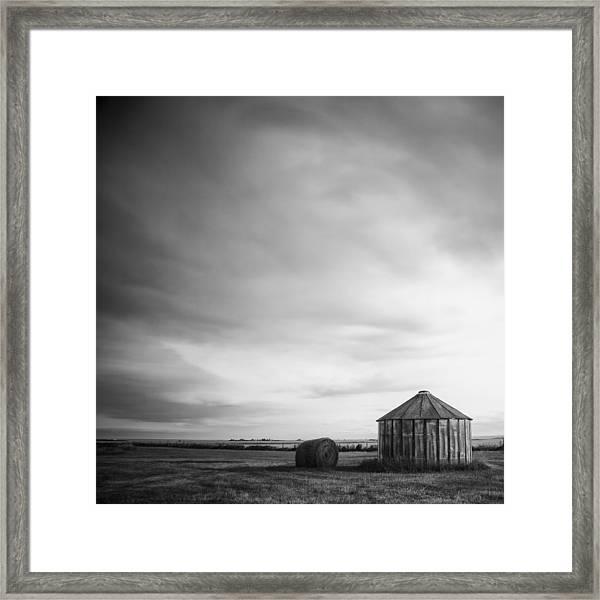 Prairie Silo Framed Print