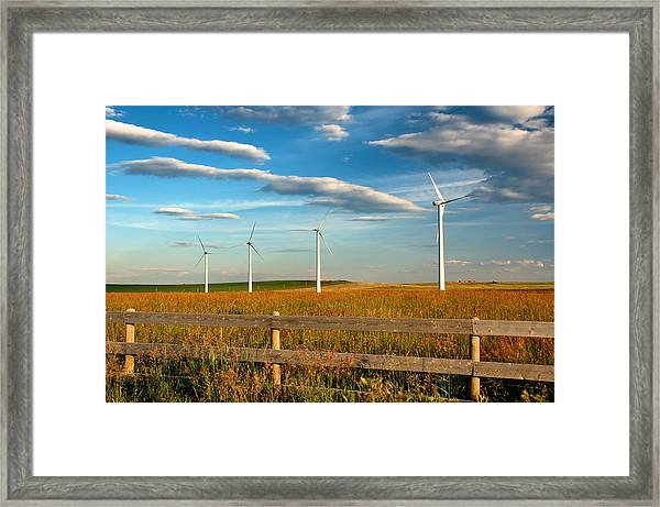 Prairie Wind 1 Framed Print