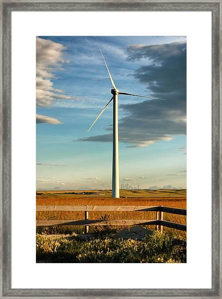 Prairie Wind 4 Framed Print