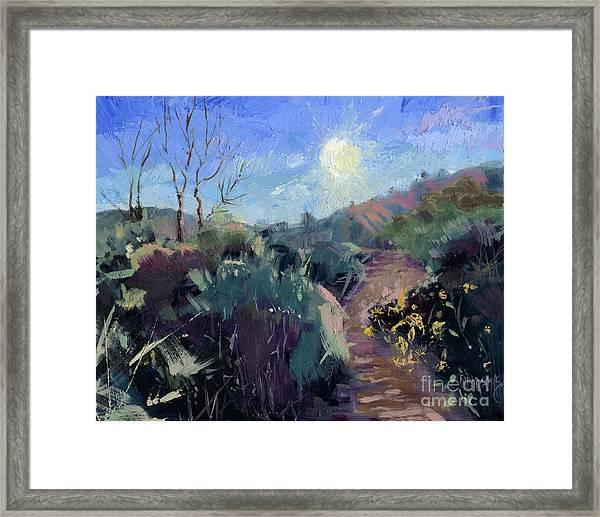Sold Praise For The Morning  Framed Print