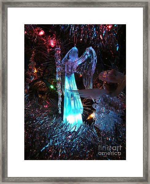 Praising Angel Framed Print