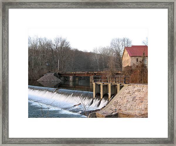Prallsville Mill Framed Print