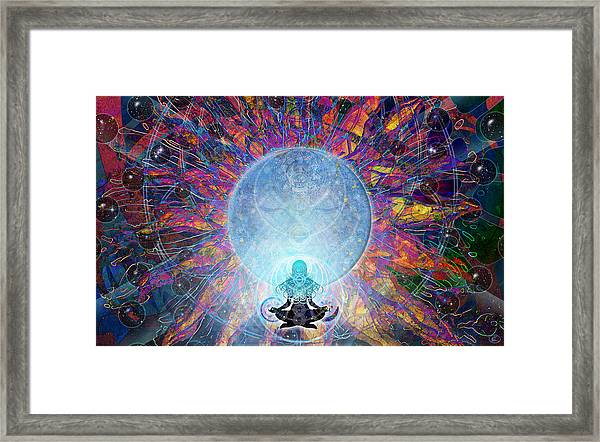 Prana Framed Print