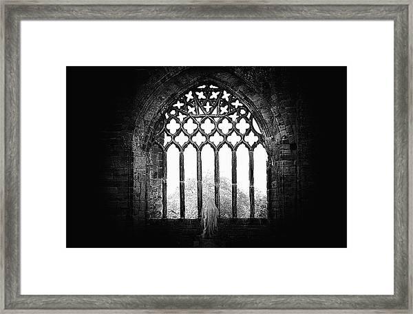 Prayer Framed Print by Ray Clark