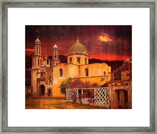 Prayers At Dusk Framed Print