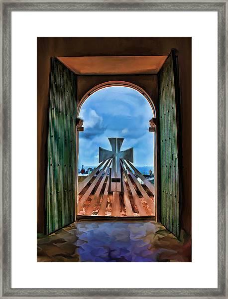 Prayers For Cartegena Framed Print