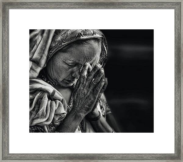 Prayers Framed Print
