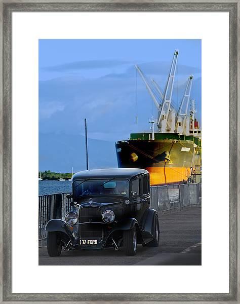 Precious Cargo Framed Print by Debbie Cundy