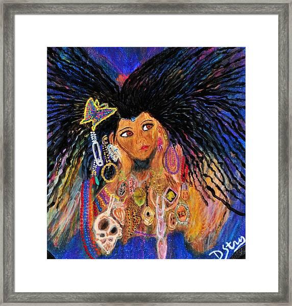 Precious Fairy Child Framed Print