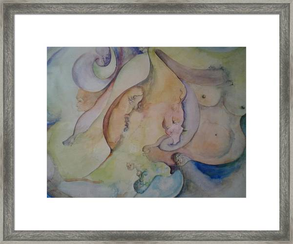 Pregnant With Desire One Framed Print