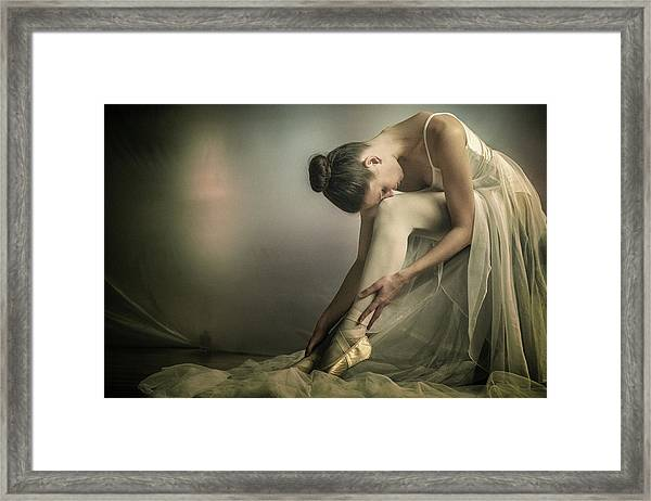 Preparation To Dance Framed Print