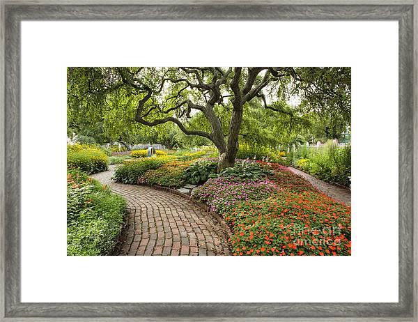 Prescott Park - Portsmouth New Hampshire Framed Print