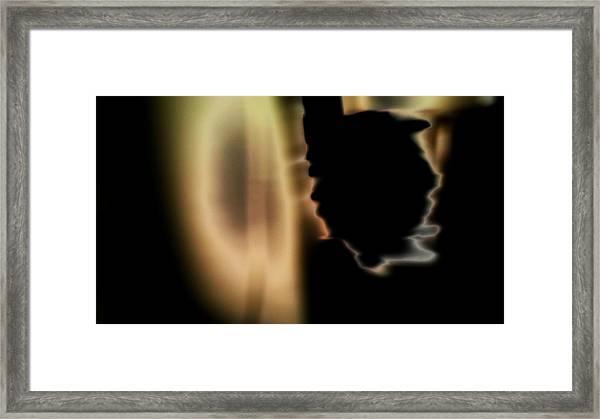 Presence 3 Framed Print