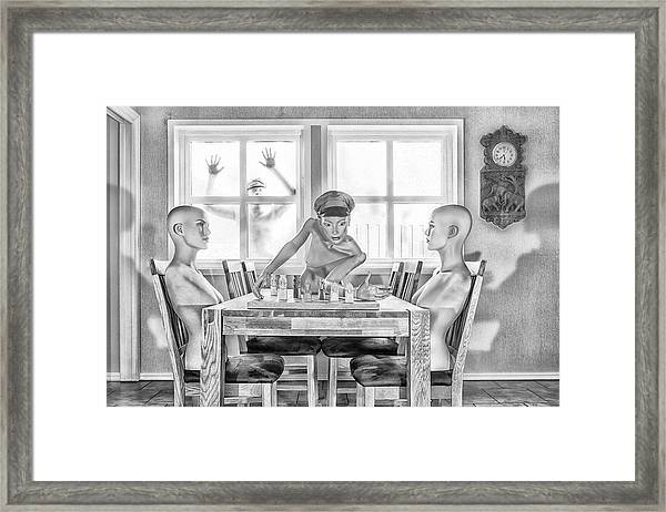 Present Exile Framed Print by The Jar -