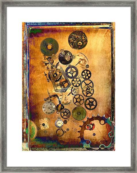 Present Framed Print