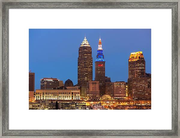 President's Day In Cleveland 2014 2 Framed Print