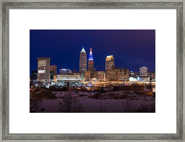 President's Day In Cleveland 2014 Framed Print