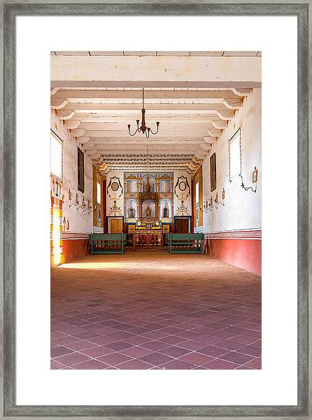 Presidio Chapel Framed Print