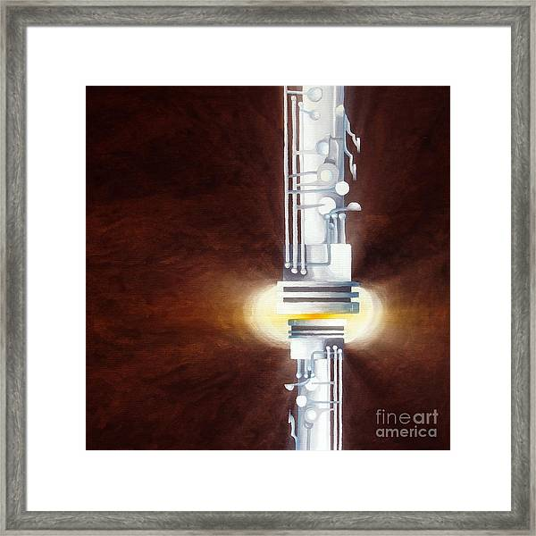 Pressure Sensitive - Always There 2 Framed Print