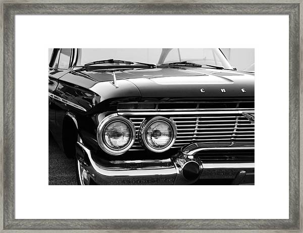 Pretty Chevy Framed Print