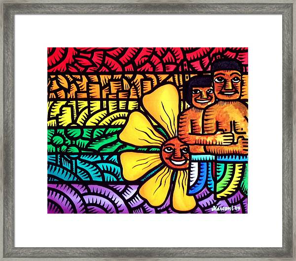 Pride And The City 2009 Framed Print