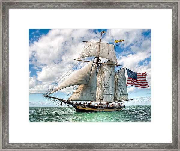 Pride Of Baltimore  Framed Print