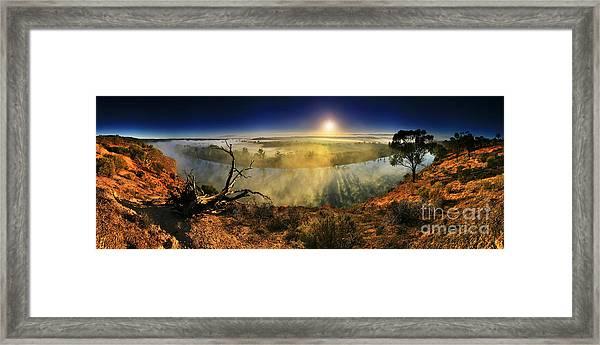 Primeval Dawn Framed Print by Bill  Robinson