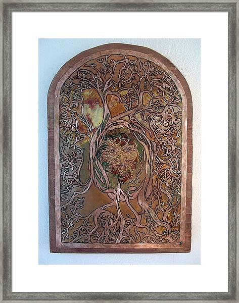 Primeval Forest Mother Framed Print