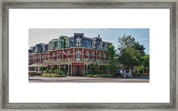 Prince Of Wales Hotel 9000 Framed Print