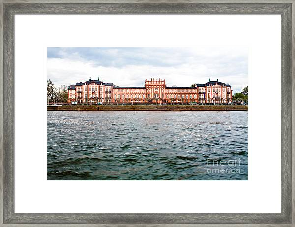Princely Baroque Palace Framed Print