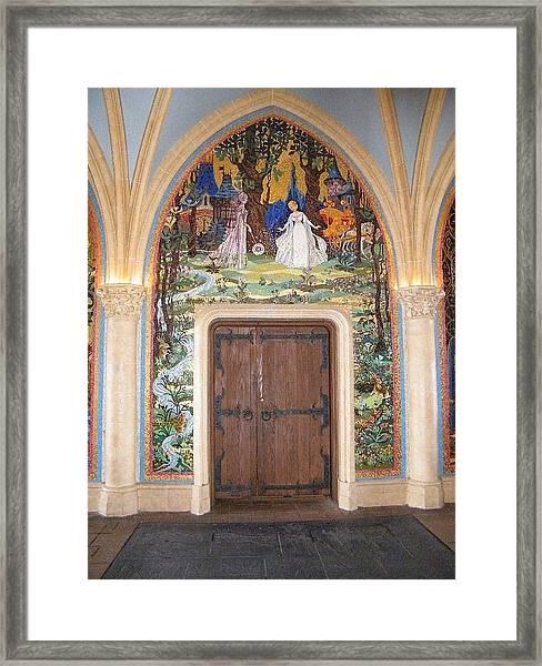 Princess Door Framed Print