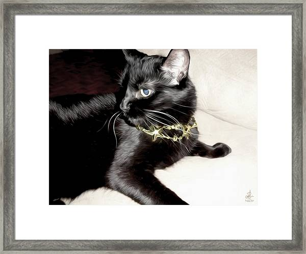 Princess Lucy Framed Print