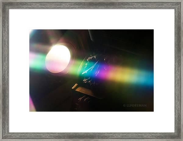 Prism Of Light Framed Print