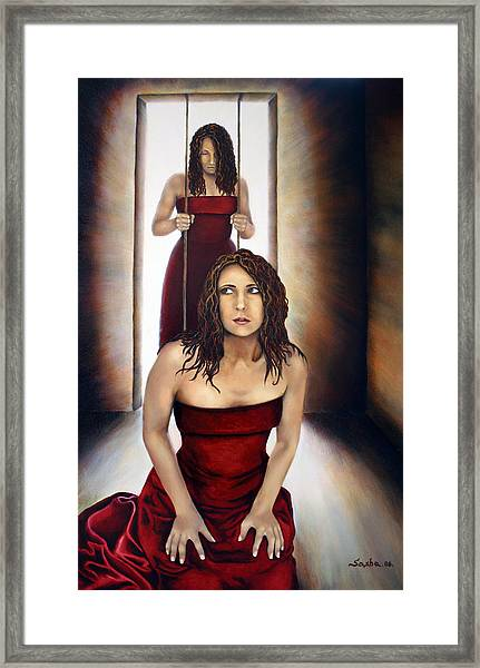 Prisoner Of My Mind Framed Print