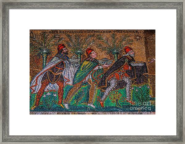 Procession Of The Magi Framed Print
